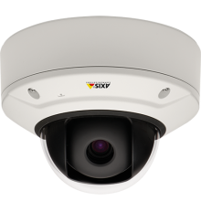 AXIS Q3709-PVE Network Camera Multi-sensor, multi-megapixel - 180° overview. One camera
