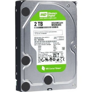 WD Caviar Green 2TB SATA Hard Drives (WD20EARX)