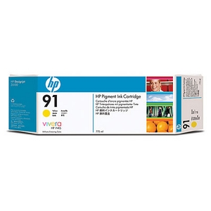 muc in hp 91 775 ml pigment yellow ink cartridge c9469a