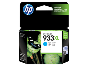 muc in hp 933xl high yield cyan original ink cartridge cn054aa