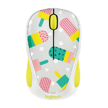 Chuột quang không dây Logitech Wireless Mouse M238 Party Popsicles