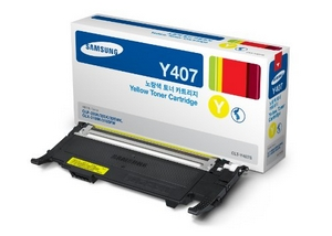 muc in samsung clt y407s yellow toner cartridge