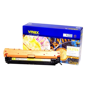 Mực in Vmax 650A, Yellow Toner Cartridge (CE272A)