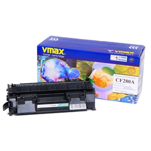 Mực in Vmax 80A Black Toner Cartridge (CF280A)