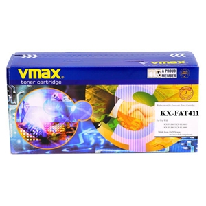 Mực in Vmax KX FA T411, Black Toner Cartridge