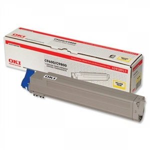 Mực in Oki C9600 Yellow Toner Cartridge